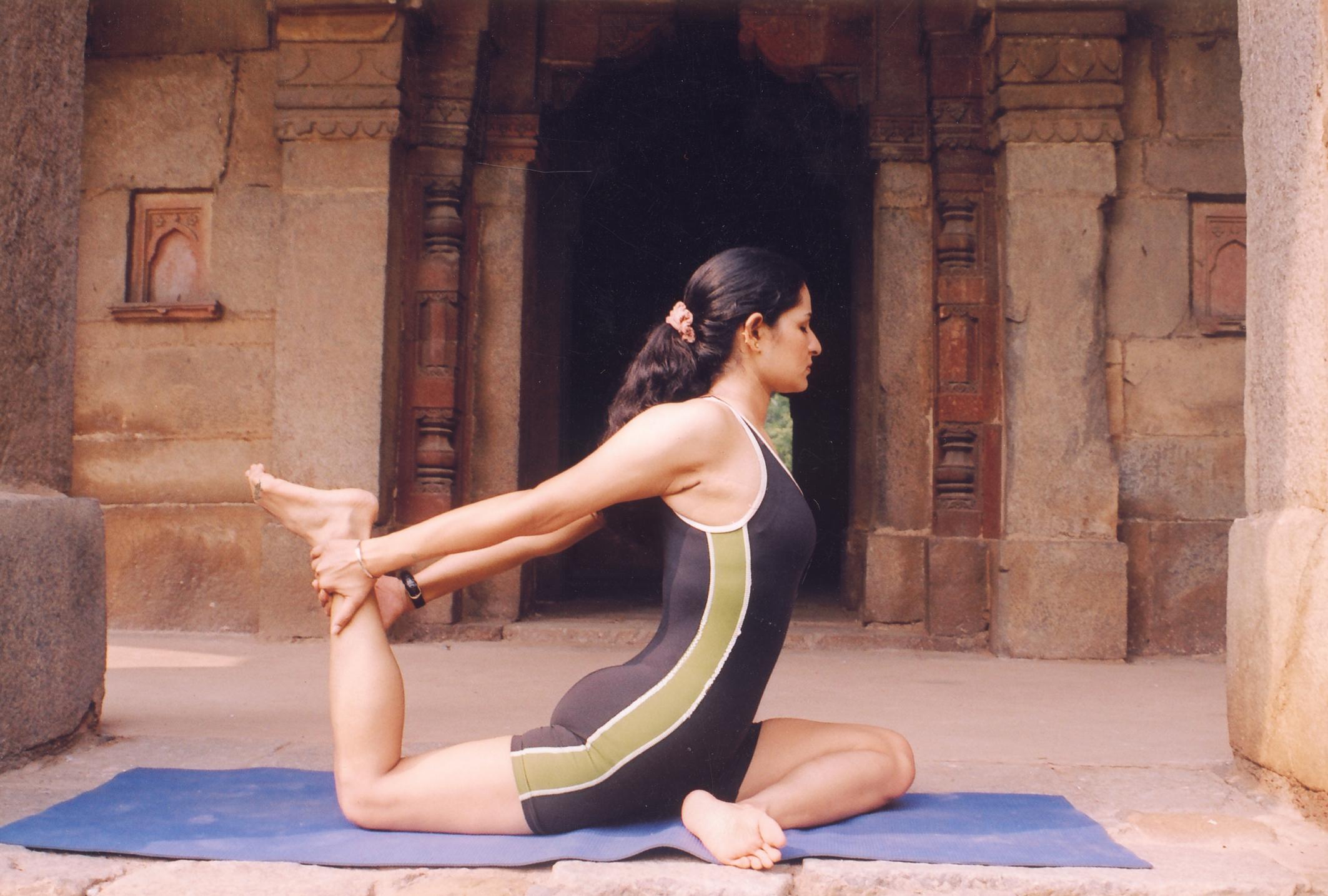 Yoga i hemmet