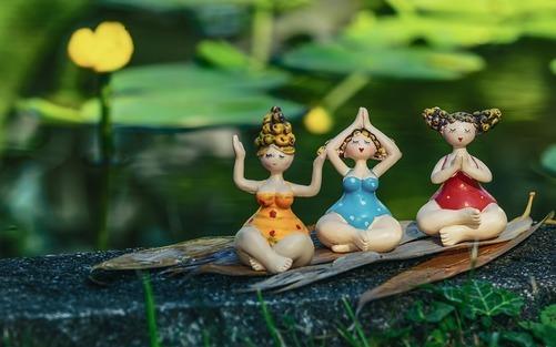 Inred din yogaoas med växter